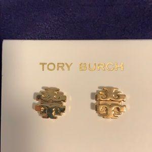 Tory Burch small T earrings